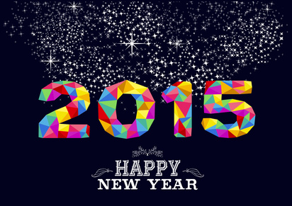 New year 2015 n